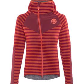 Edelrid Creek Fleece Jacket Women Vine Red